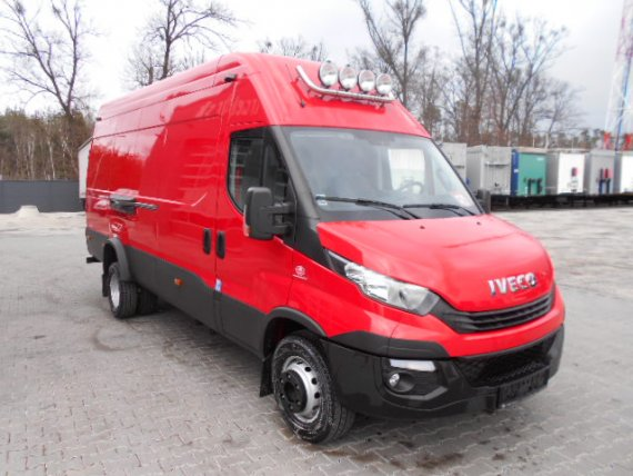 IVECO DAILY 70C18 2018, 49000TKM, TOP